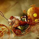 The chase by Alexander Skachkov