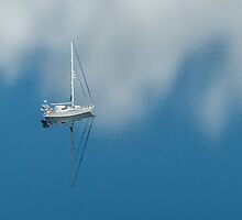Anchored in a cloud by Linda Sparks