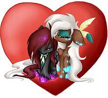 Chibi Love by ArcadianPhoenix