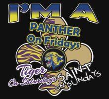 I'm A Panther On Fridays, Tiger On Saturdays, Saint On Sundays by Deni Morace Barbay