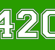 420 HIGH by James Chetwald Mattson