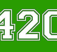 420 HIGH by JamesChetwald