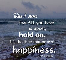 Hold on to happiness by avsim