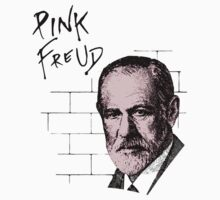 Pink Freud Sigmund Freud by TheShirtYurt