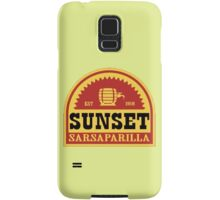 Sunset Sarsaparilla Samsung Galaxy Case/Skin