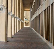 Outdoor Corridor by KevinMyron