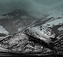 Ruby Mountains in a Storm  by mnevins