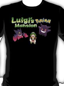 Luigi's Pokemon Mansion T-Shirt