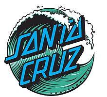 Santa cruz wave logo by Ethanparker