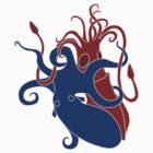 My Heart is an Angry Cephalopod by cepheart