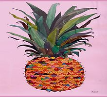 pineapple fun by Stephanie Leboff