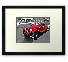 Vintage Style - Stands Out From The Crowd Framed Print