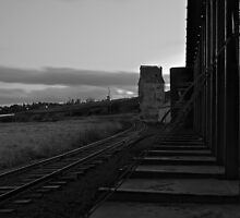 The Train Tracks by JvGphotography