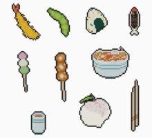 Pixel Food - Japanese Set by mila-p