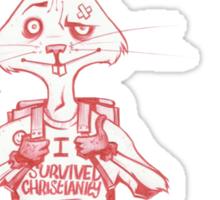 Atheist Easter Bunny Sticker