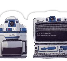 R2D2 Evolution Sticker