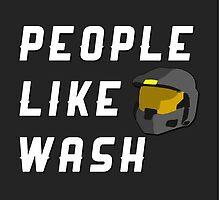People Like Wash by direlywolf