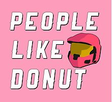People Like Donut by direlywolf
