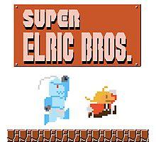 Super Elric Bros. Photographic Print