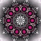 Pink Pattern Kaleidoscope by fantasytripp