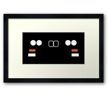 BMW E30 M3, 3 series front end simplistic design Framed Print