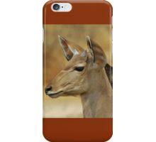Kudu Bull Calf - Innocent Beauty iPhone Case/Skin