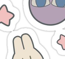 Sailor Moon R inspired Chibusa Luna-P Bedspread Blanket Print Sticker