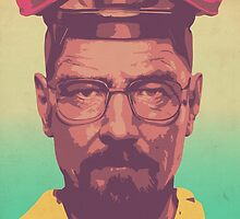 The Master Chemist - Walter White  by Daniel Watts