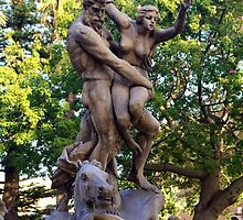 Persephone Abducted By Hades by Francis Drake