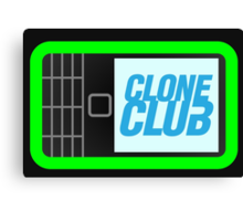 Clone Club - Green Version Canvas Print