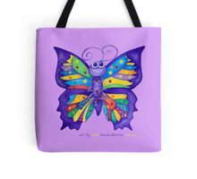 Yoga Butterfly; Namaste  Tote Bag