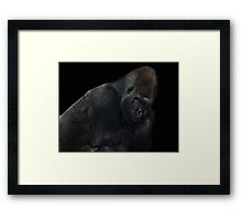 new chief in town Framed Print