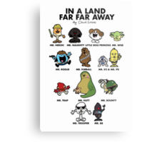 In A Land Far Far Away Metal Print