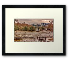 Winter in the Dales Framed Print