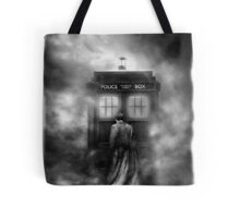 Hazy Police Public Call Box Tote Bag