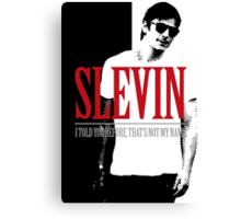 Lucky Scarface Slevin Canvas Print