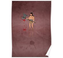 8-Bit Marvels Conan Poster