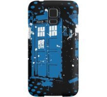 Retro Ink Splash in Time and Relative Dimension In Space Samsung Galaxy Case/Skin