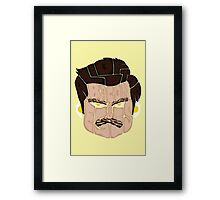 All of the Bacon and Eggs - Ron Swanson Framed Print