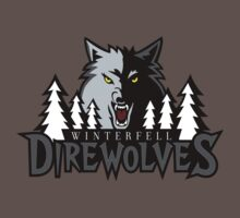 Winterfell Direwolves T-Shirt