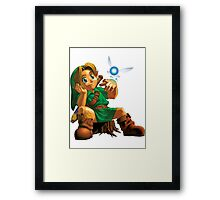 Young Link Framed Print
