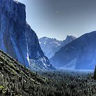 Yosemite valley by Nancy Richard