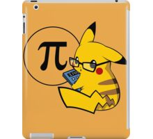 Pi-kachu v2.0(with shadows and glasses with lenses) iPad Case/Skin