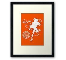 The Senshi Games: Venus ALT version Framed Print