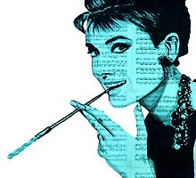 Audrey Hepburn an04 by #Palluch #Art