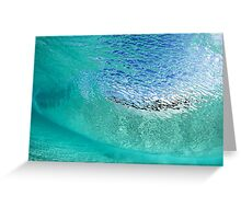 Wave Scales Greeting Card