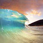 Maui Sunset Shorebreak by loveandwater