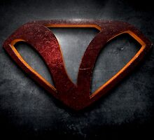 """The Letter V in the Style of """"Man of Steel"""" by BigRockDJ"""