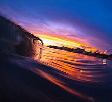Sunset Wave II by loveandwater