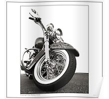 """Harley-Davidson Deluxe"" Poster"